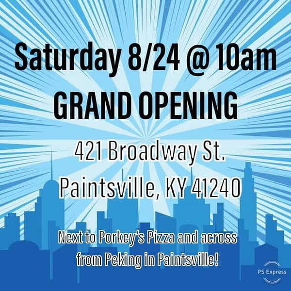 Everything Nerdy, New Comic Book Store Opening in Paintsville, Kentucky Today
