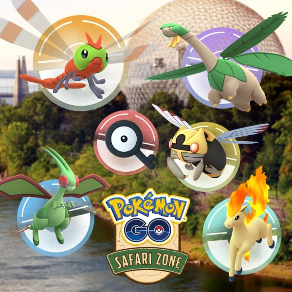 "Niantic Announces ""Pokémon GO"" Safari Zone Montreal"