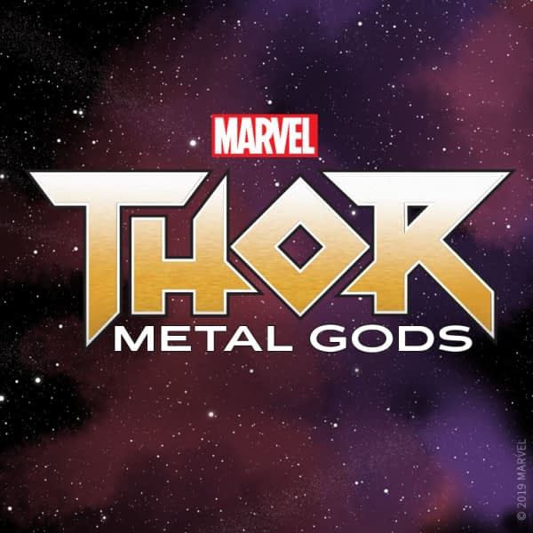 First Marvel SerialBox Novel Unveiled: Thor Metal Gods
