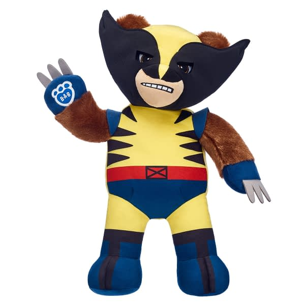 Scary Murderer Wolverine to Be Immortalized as Cute Build-a-Bear