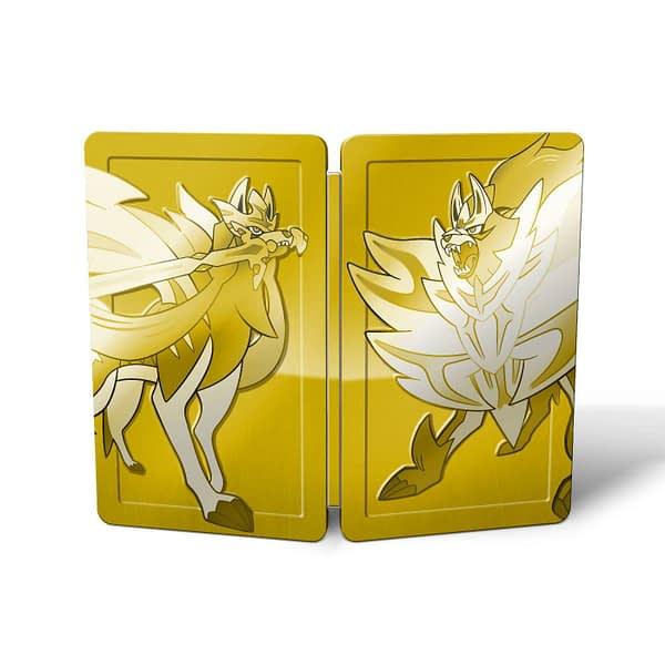 """Pokemon Sword and Shield"" Steelbook Case is a US Target Exclusive"