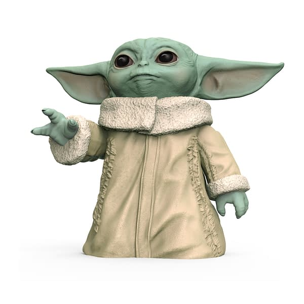 Baby Yoda Hasbro Figures Revealed, Including a Talking Figure!