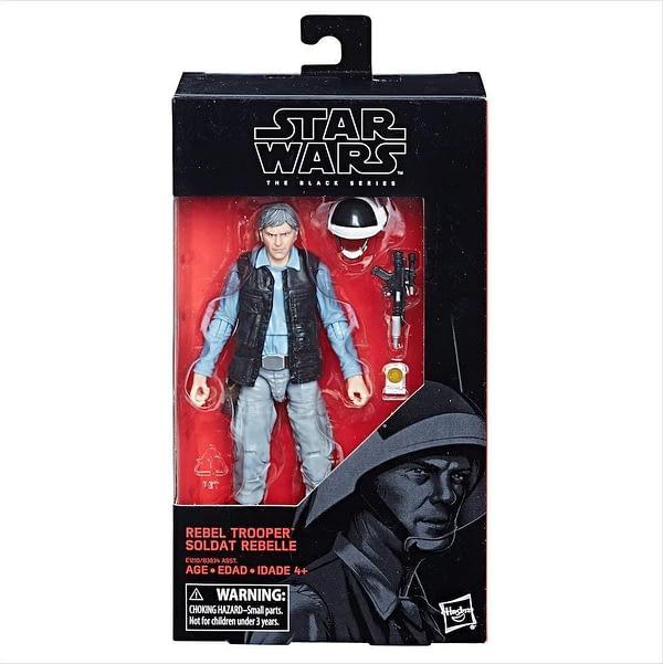 Star Wars Black Series Rebel Trooper Carded