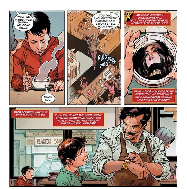 Damian Wayne, Definitely Vegetarian No More – and a Tease For 5G? Superman #16 (Spoilers)