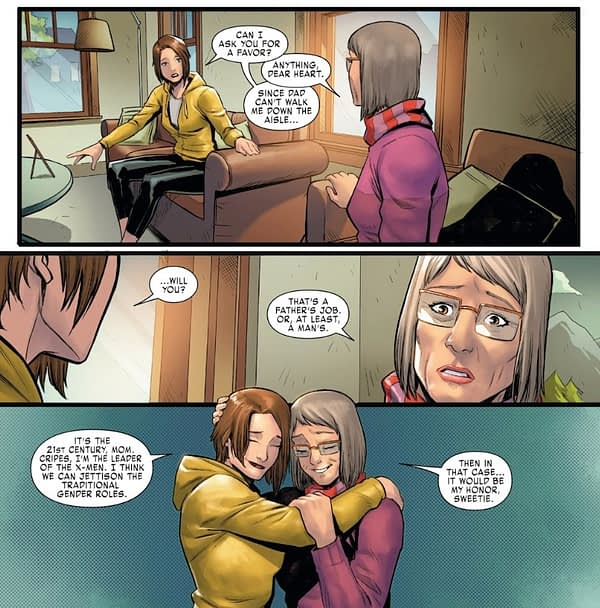 X-Men's Kitty Pryde Wedding Planning