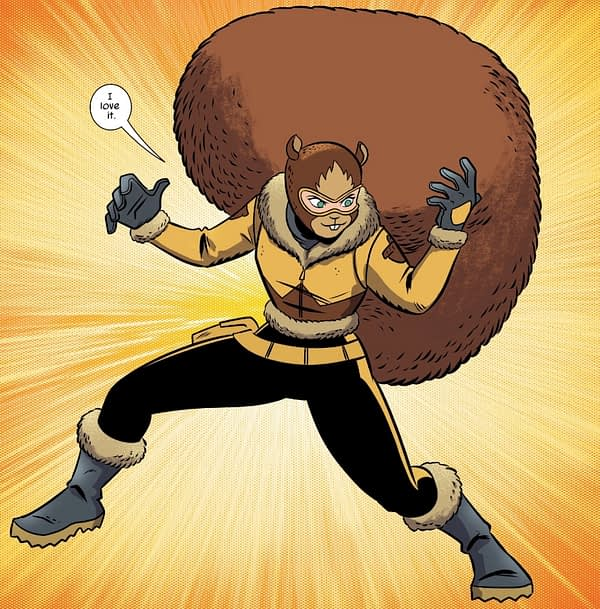 A New Look for Squirrel Girl in Unbeatable Squirrel Girl #43