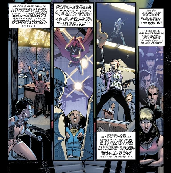 And Now Another Major Change for Luthor Today's Justice League #26 (Spoilers)
