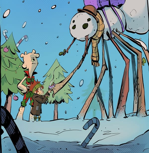 A Christmas Fantasy Comic Needs Your Helps
