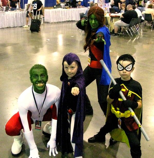 family teen titans