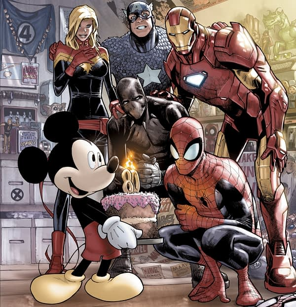 First Official Mickey Mouse From Marvel Comics For D23