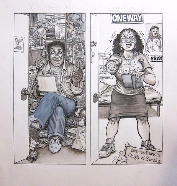 Leslie Sternbergh, Alternative Cartoonist and MAD Magazine Contributor Has Died