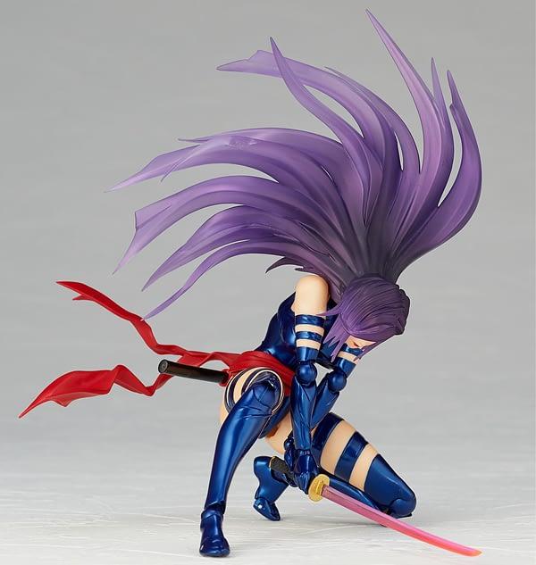 Revoltech Psylocke 6