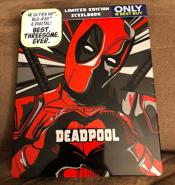 Deadpool Best Buy Exclusive Blu Ray Steelbook 1