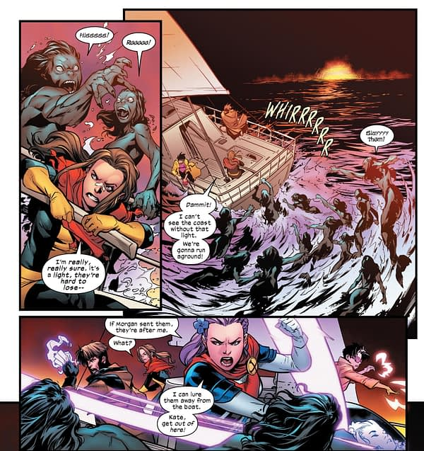 Two More New Homes For Mutants in Marauders and Excalibur