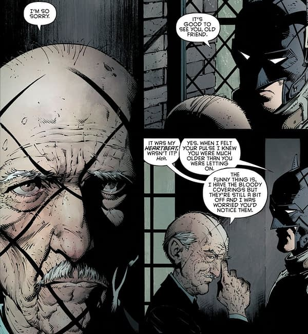 There's a Lot Of Alfred in Today's DC Comics For a Dead Man