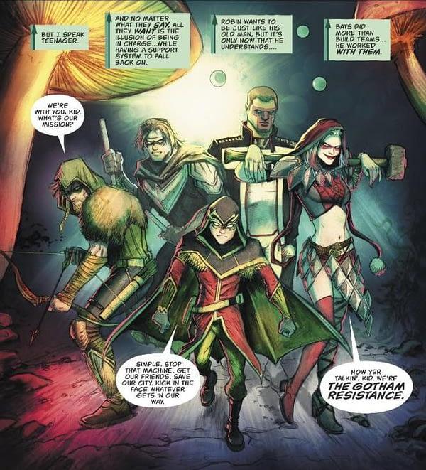 Green Arrow #32 art by Juan Ferreyra
