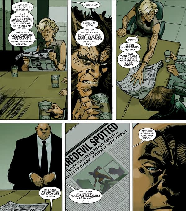 The Privilege of the Kingpin in Daredevil #7 (Preview)
