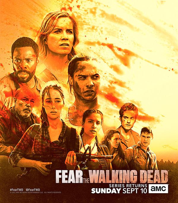 the walking dead season 8 premiere date key art