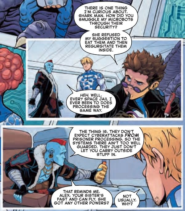Yondu's Plan for the Space Prison-Industrial Complex in Future Foundation #1 [Preview]