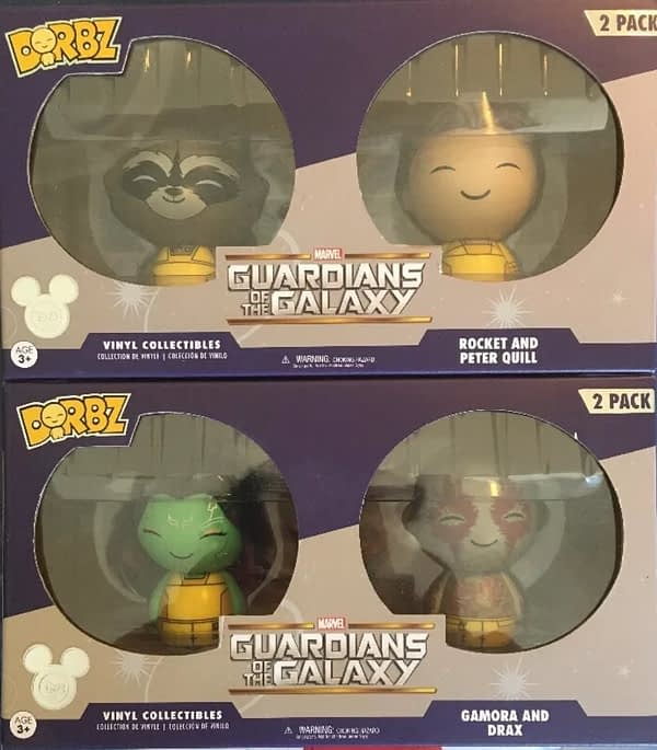 Funko D23 Dorbz Guardians of the Galaxy 2-Packs