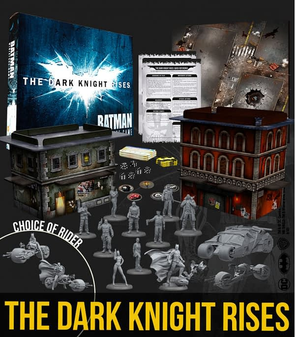Knight Models to Release 'Dark Knight Rises' Miniature Set