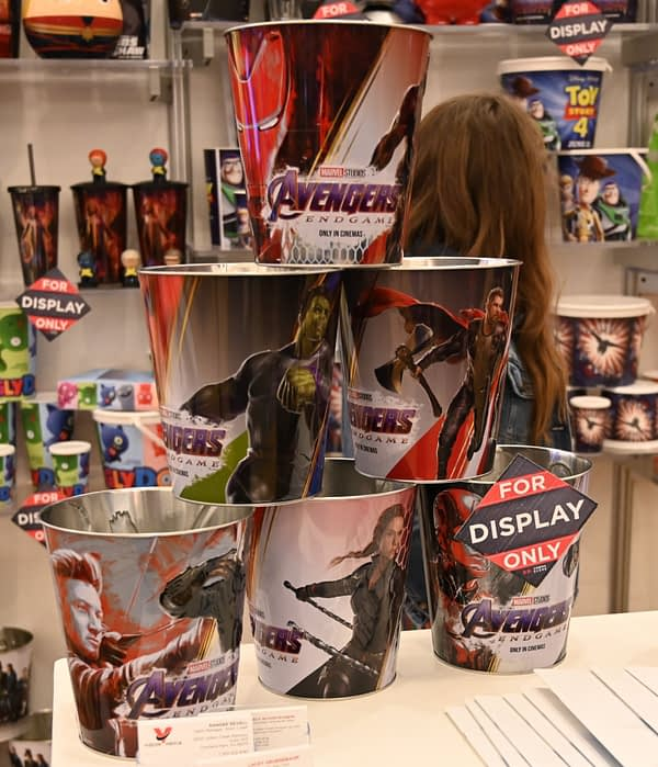 CinemaCon: First Looks at Avengers: Endgame, Dark Phoenix, Toy Story 4 Merch Coming to Theaters