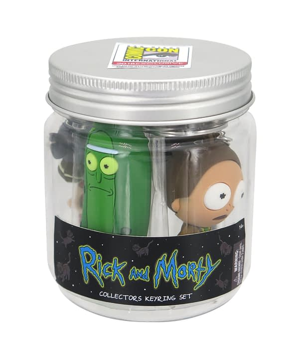Monogram SDCC Exclusive Rick and Morty Keyring Set