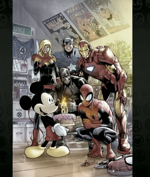 The Great D23 Marvel Comics Panel