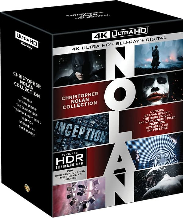 Christopher Nolan Films 4k