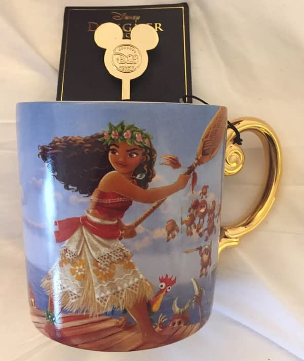 D23 Moana Gold Edition Coffee Mug Exclusive