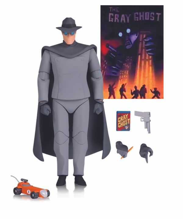 DC Collectibles BTAS Gray Ghost