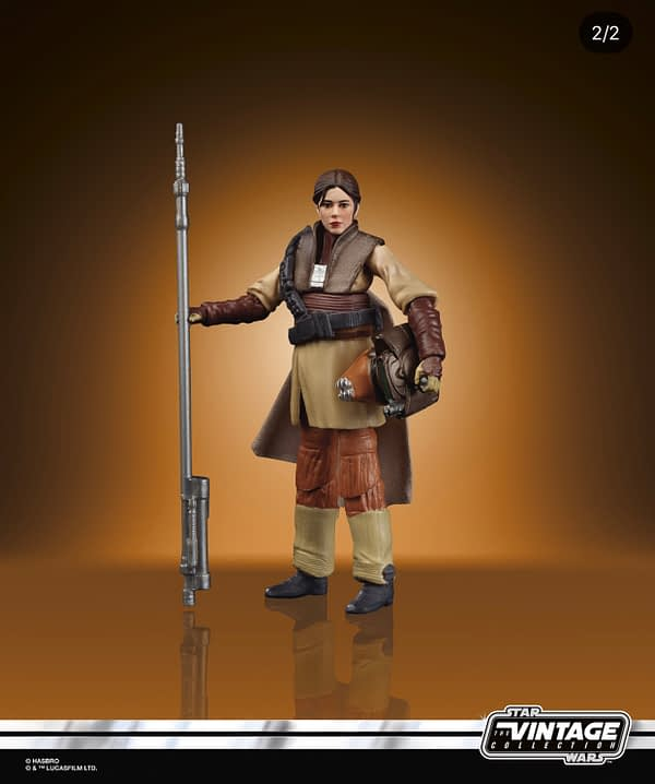 Star Wars Vintage Collection Leia Boushh Unboxing Con Reveal