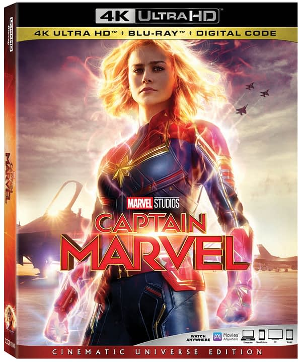Here's What We're Getting on the 'Captain Marvel' DVD, Blu-Ray