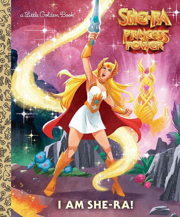 I am She-Ra Golden Book