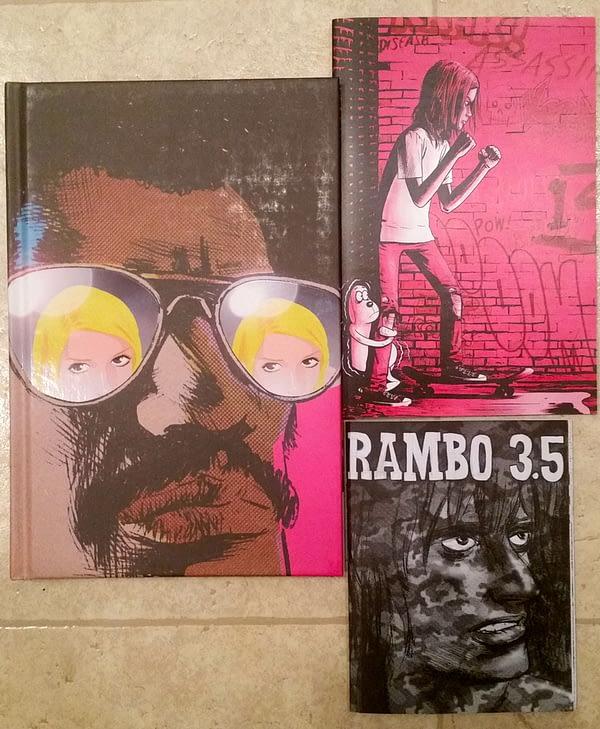 12 Jim Rugg Comics