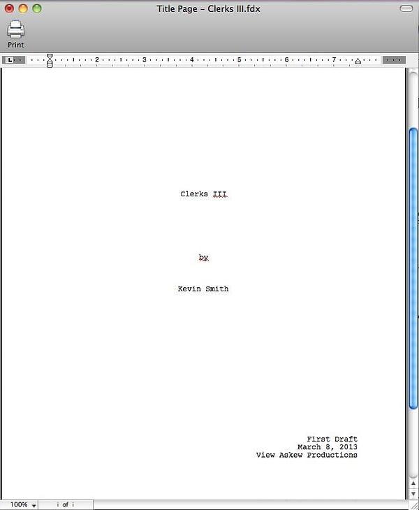 clerks 3 cover sheet