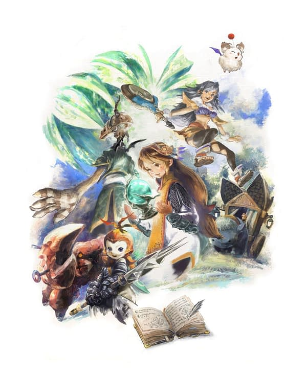 """Square Enix Announces """"Final Fantasy Crystal Chronicles"""" Remastered Edition"""