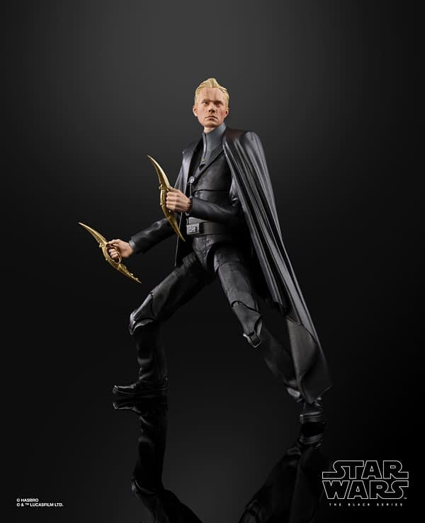 Star Wars The Black Series Dryden Vos 6-Inch Figure (2)