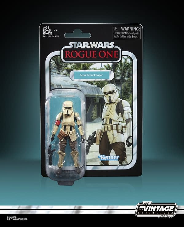 Star Wars The Vintage Collection Scarif Trooper Figure - in pck