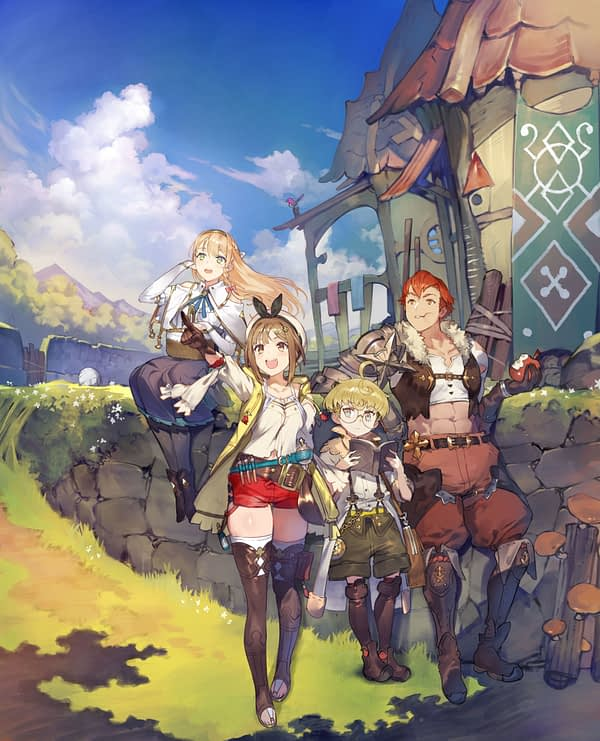"""Atelier Ryza"" Shows Off the New Fast-Paced Battle System"