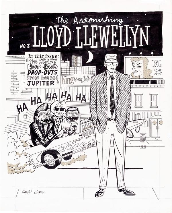 lloyd-llewellyn-3-dan-clowes-original-art