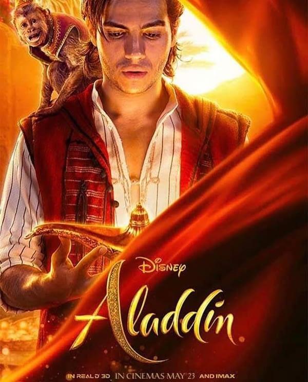 4 affiches de personnages et une nouvelle affiche internationale pour Aladdin, premier regard Iago