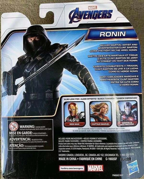 Avengers Endgame Ronin Basic Figure 2