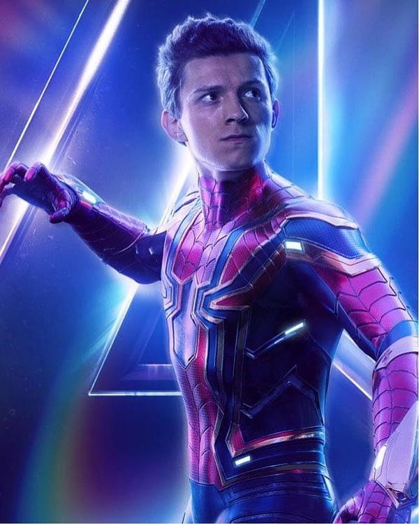 tom holland avengers: infinity war