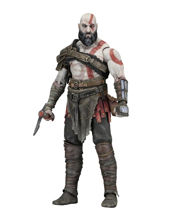NECA God of War Kratos 2