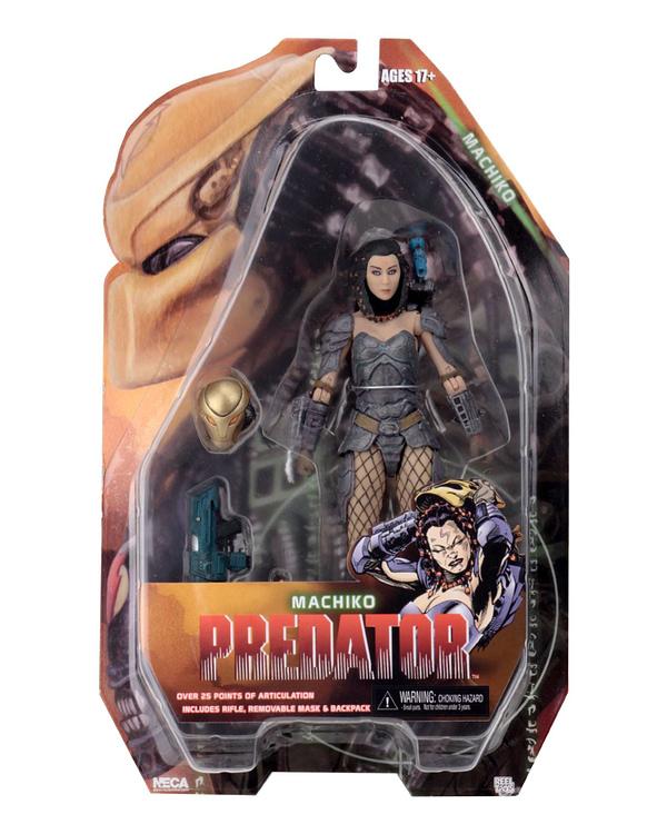 NECA Predator Machiko Packaged 1
