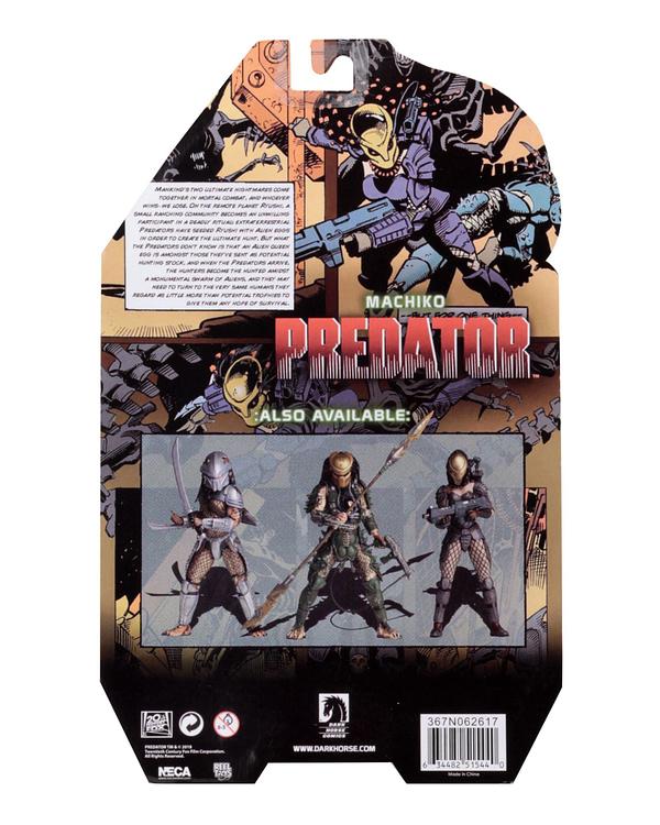 NECA Predator Machiko Packaged 2