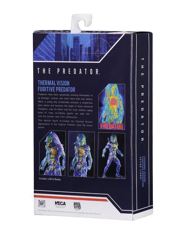 NECA Thermal Predator Figure Target Exclusive 3