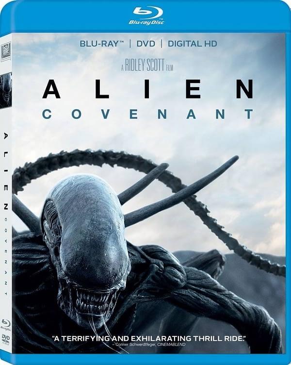 Alien Covenant Blu Ray case
