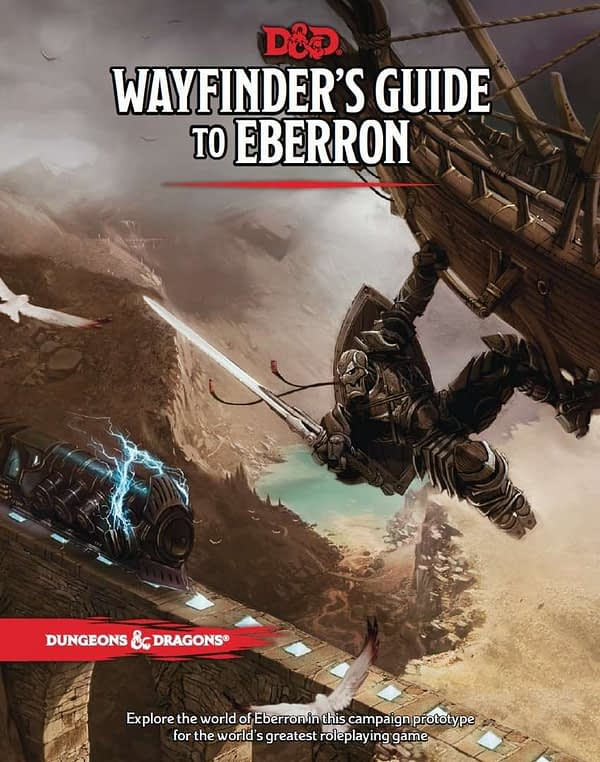 D&D Will Publish A Hardcover Version of Wayfinder's Guide to Eberron